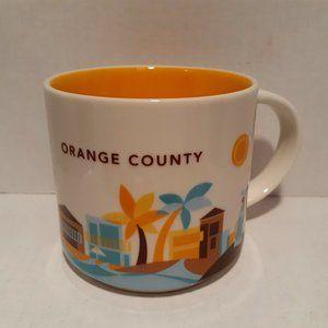 Starbucks 2014 You Are Here Mug - Orange County